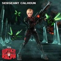Sargento Calhoun/Sargent Calhoun ::: Ralph el demoledor/Wreck-it Ralph